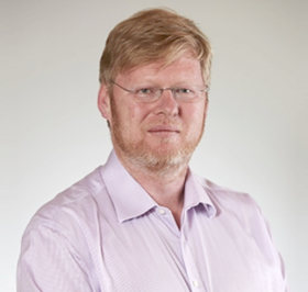 Portrait of Conor Byrne, co-founder of ICE Technology Services