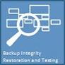 backup integrity, restoration and testing