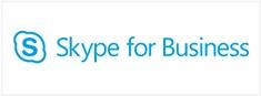 logo of Skype for business