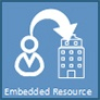 embedded resource - resource contracting