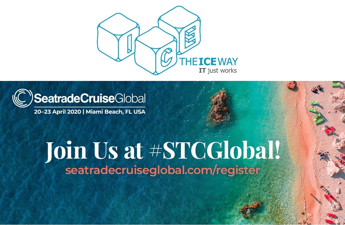 Join theICEway at Seatrade Cruise Global