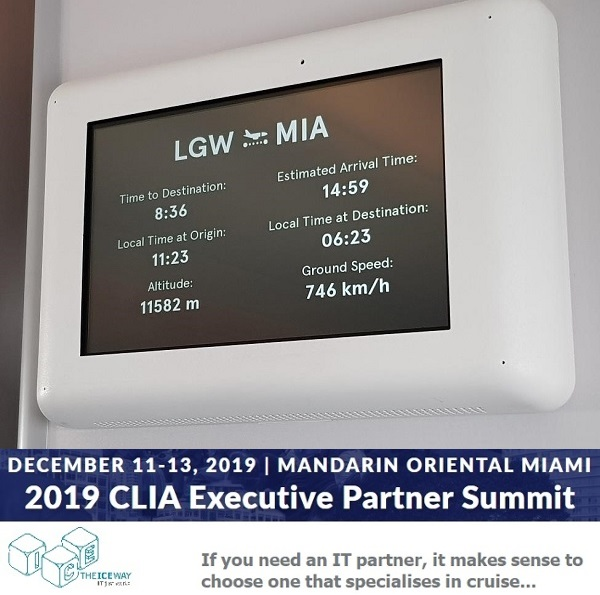 MIAMI ICE & CLIA: The flight to Miami