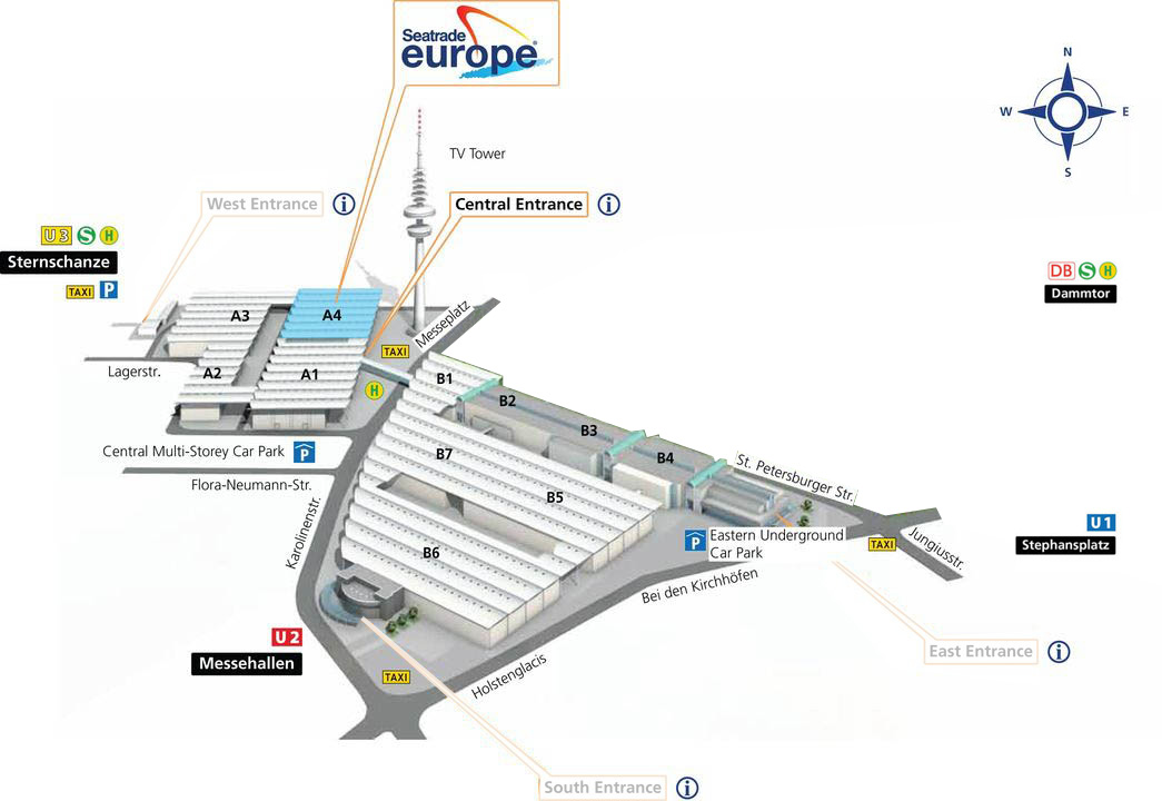 Seatrade Europe 2019 – 11th-13th September, Hamburg, Germany