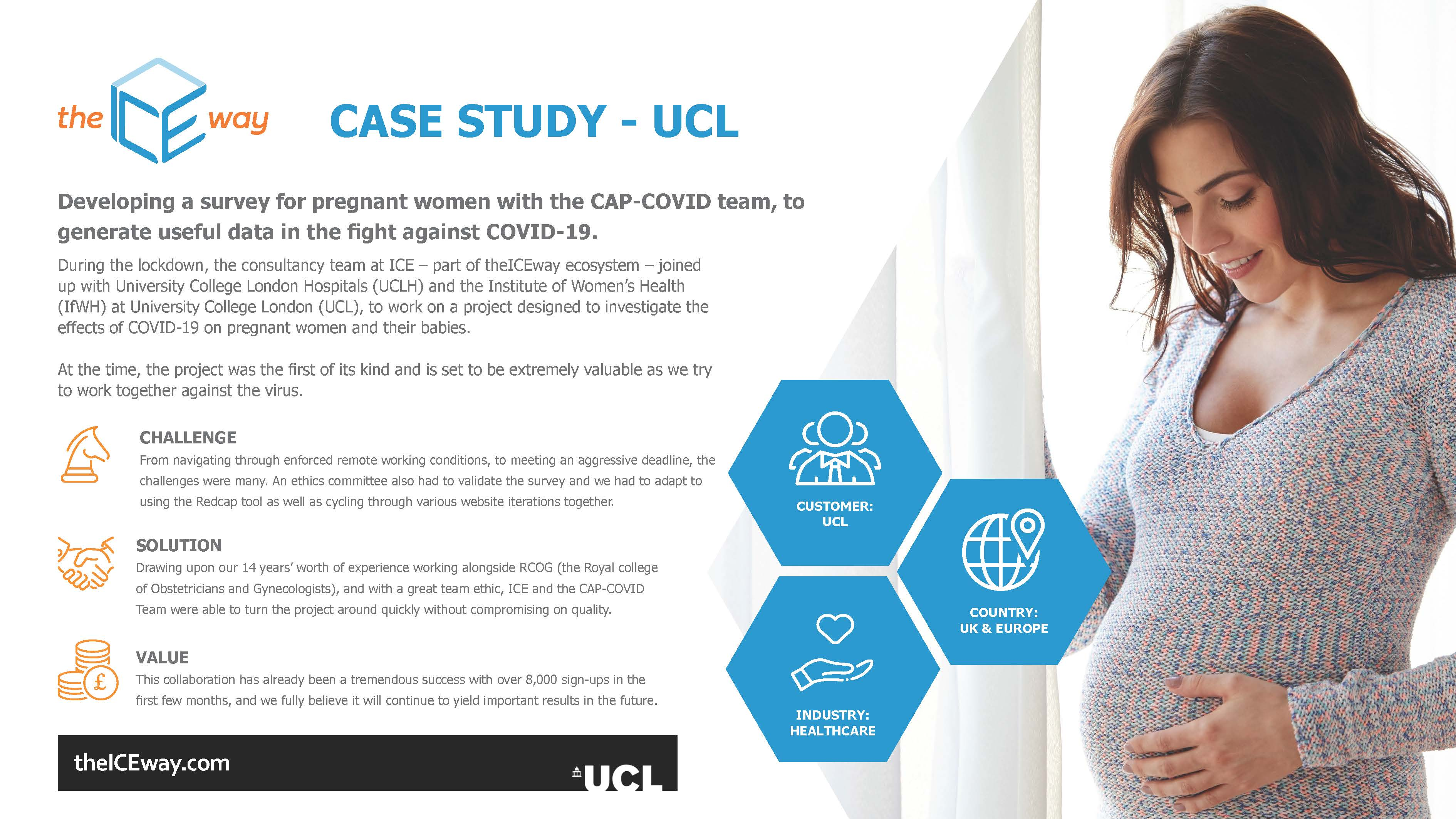 UCL Case Study: theICEway 2020